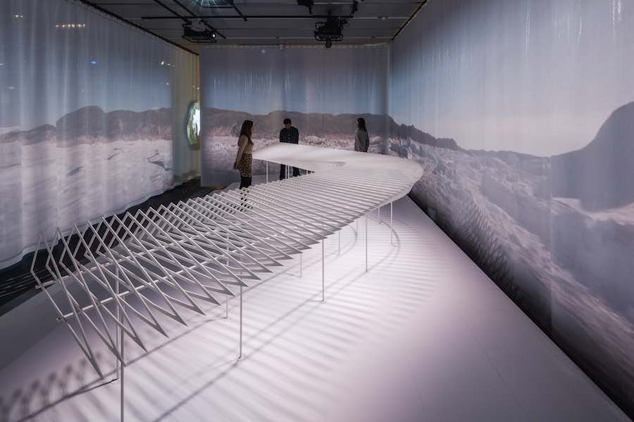 IRREPLACEABLE LANDSCAPES exhibition @ DAC. Photo by R. Hjortshoj - courtesy of the Danish Architecture Center.