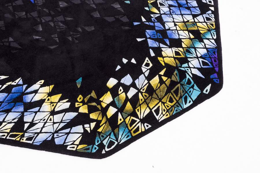RE/Form pixelated carpets by Zaha Hadid Design for Royal Thai - Photo by Zaha Hadid Design.