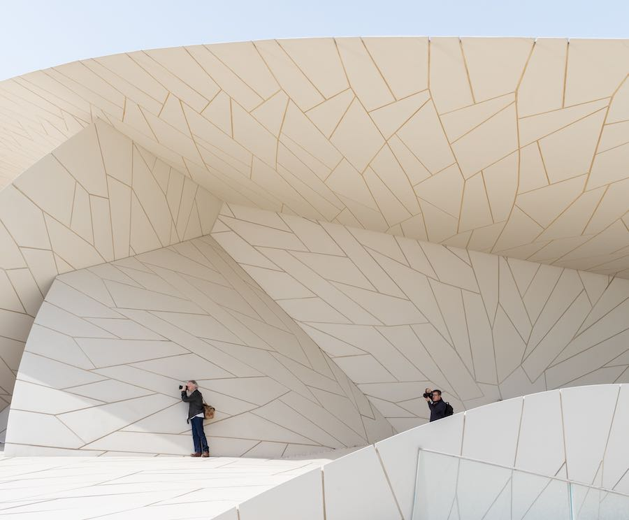 National Museum of Qatar - Photo ©Iwan Baan, courtesy of Ateliers Jean Nouvel and NMoQ