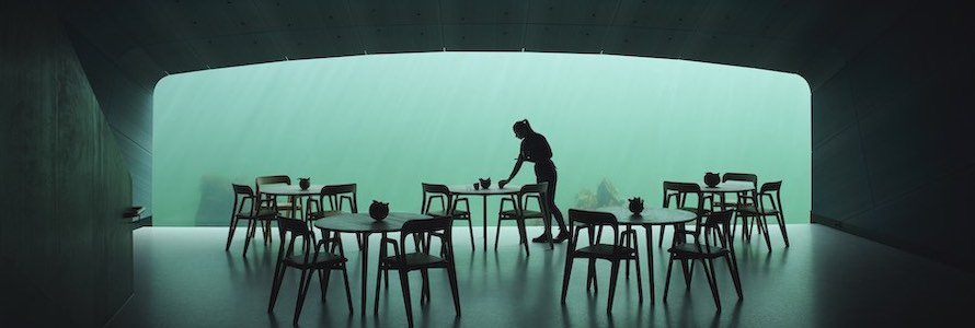 Snøhetta UNDER water restaurant