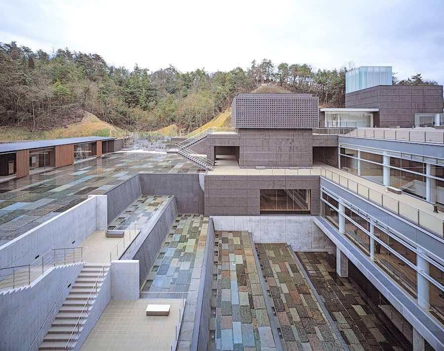 2019 Pritzker Prize. Arata Isozaki's Ceramic Park Mino - Photo: courtesy of Hisao Suzuki.