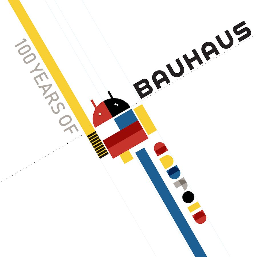 Bauhaus makeover - ANDROID by SSUK.