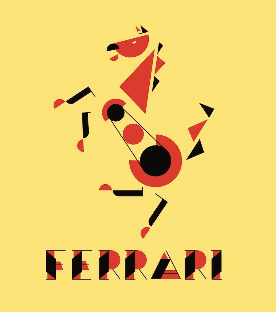 Bauhaus makeover - FERRARI by Asaad