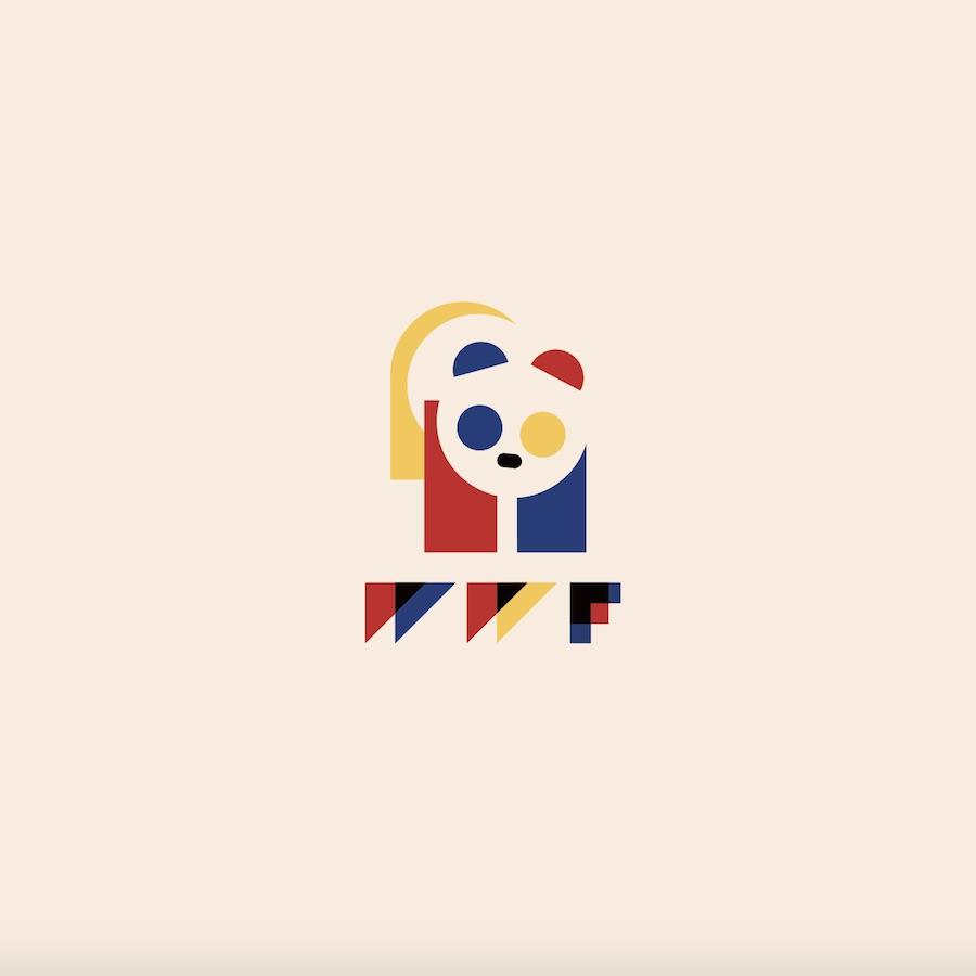 Bauhaus makeover - WWF Bauhauslogo by rosse.