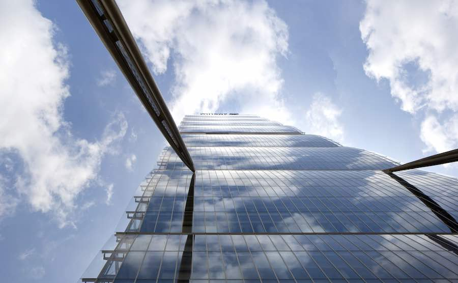 2019 Pritzker Prize. Arata Isozaki's Allianz Tower in Milan - Photo by Alessandra Chemollo.