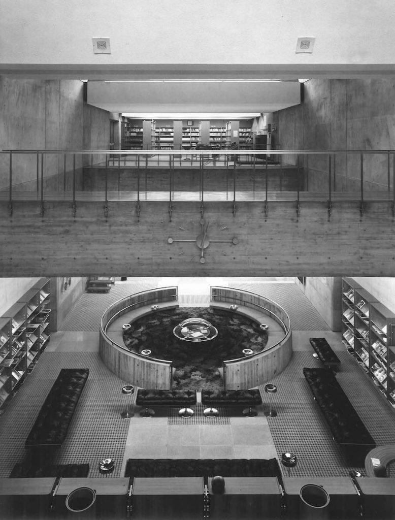 Arata Isozaki. Ōita Prefectural Library - Photo courtesy of Yasuhiro Ishimoto.