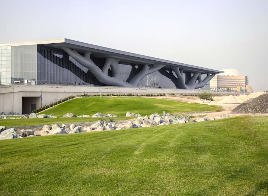 Arata Isozaki. Qatar National Convention Center - Photo courtesy of Hisao Suzuki.