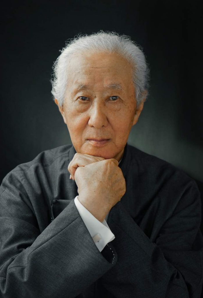 2019 Pritzker Prize - Arata Isozaki's portrait.