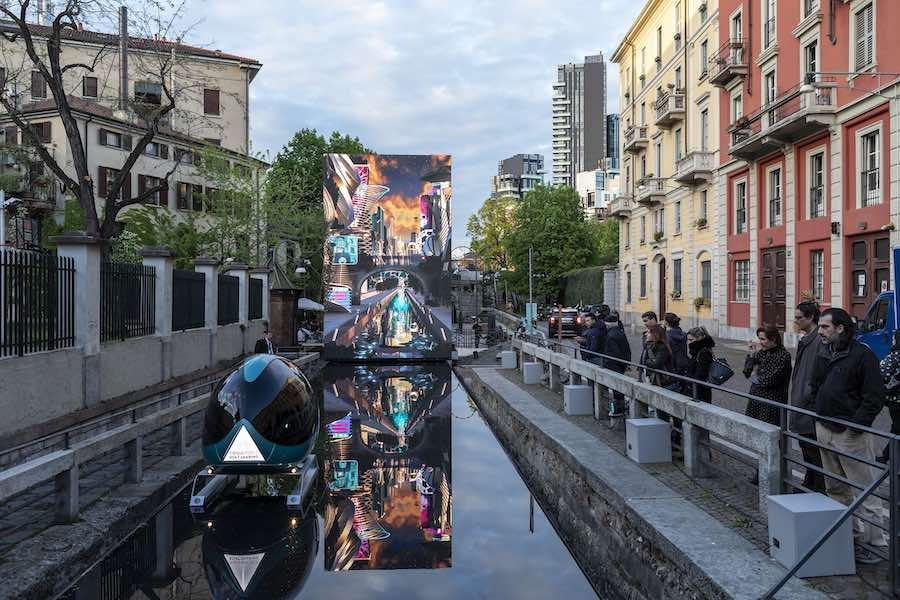 AQUA installation - Photo by Salone del Mobile.Milano