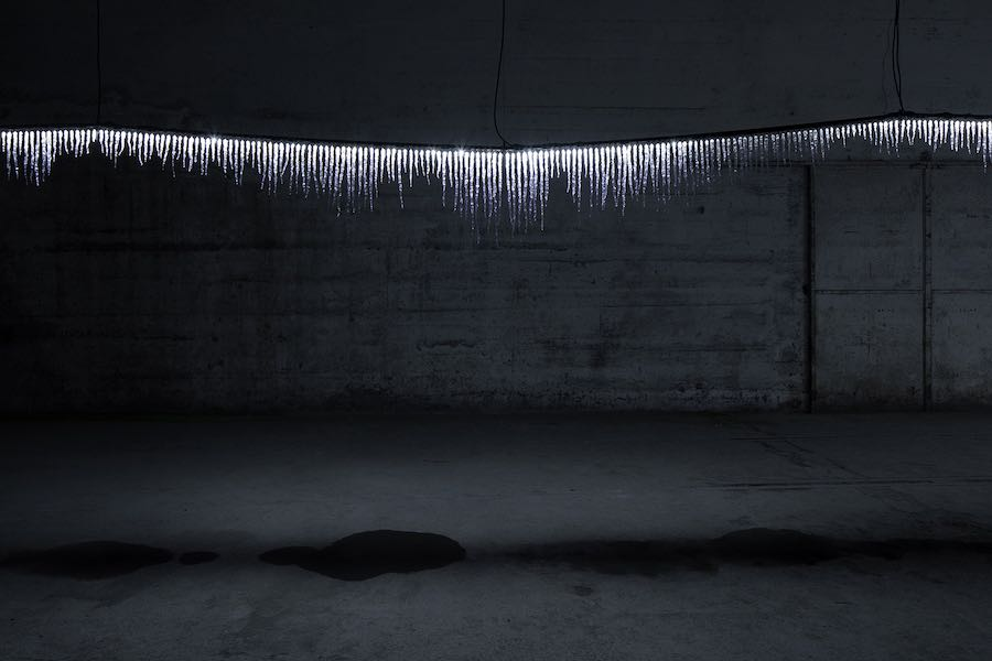 GLOW-GROW installation by TAKT Project - Photo by Takumi Ota.