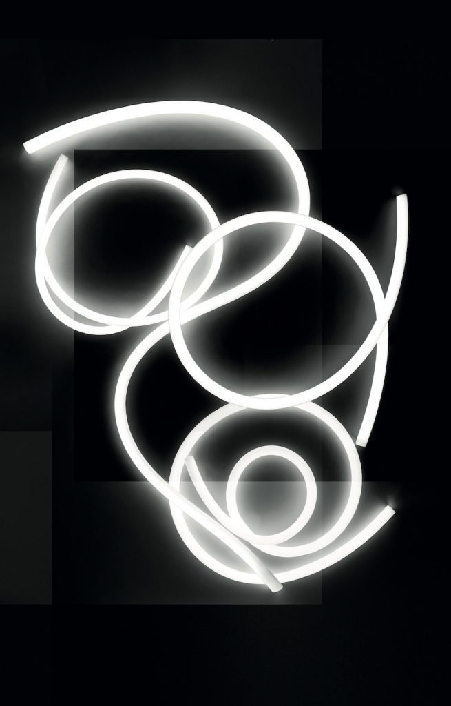 LA LINEA by BIG for Artemide - Photo by Giovanni Gastel.