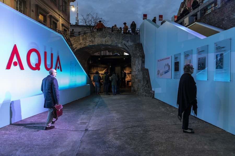 AQUA installation - Photo by Salone del Mobile.Milano.