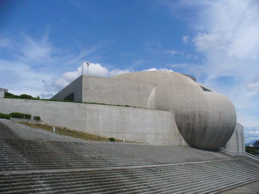 Nagaragawa Convention Center by Tadao Ando - Photo Wikimedia.