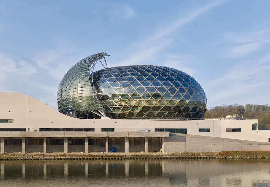 La Seine Musicale by Shigeru Ban - Courtesy of Shigeru Ban Architects.