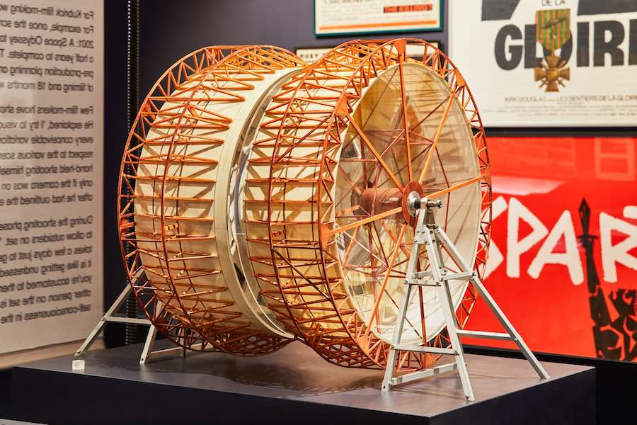 STANLEY KUBRIK - THE EXHIBITION @ London Design Museum - Photo by Ed Reeves