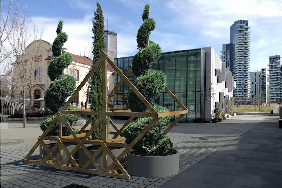 I Giardini di Leonardo by Andrea Liberni con Atelier del Paesaggio - Photo courtesy of Isola Design District