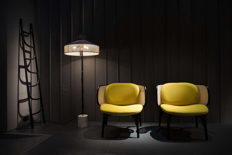 SUZENNE chair by Chiara Andreatti for for Gebrüder Thonet Vienna GmbH