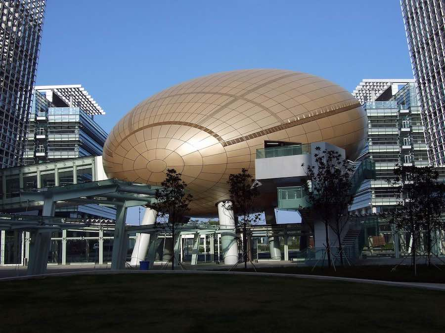 Hong Kong's Golden Egg - Wikimedia.