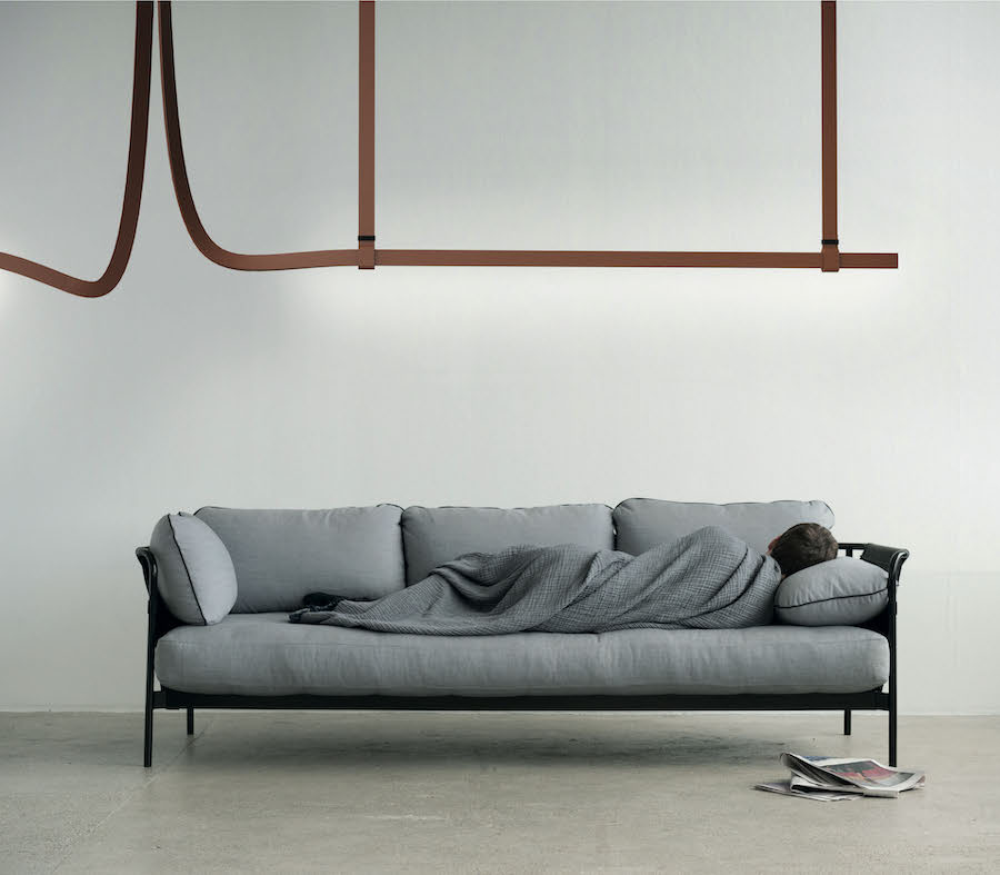 BELT by Ronan and Erwan Bouroullec for FLOS.