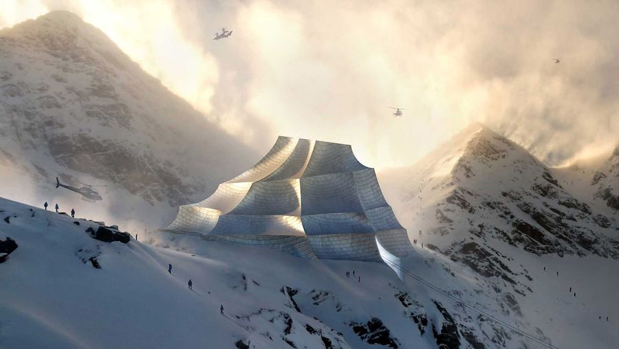 Mountain Earth Station - Image by aMdL