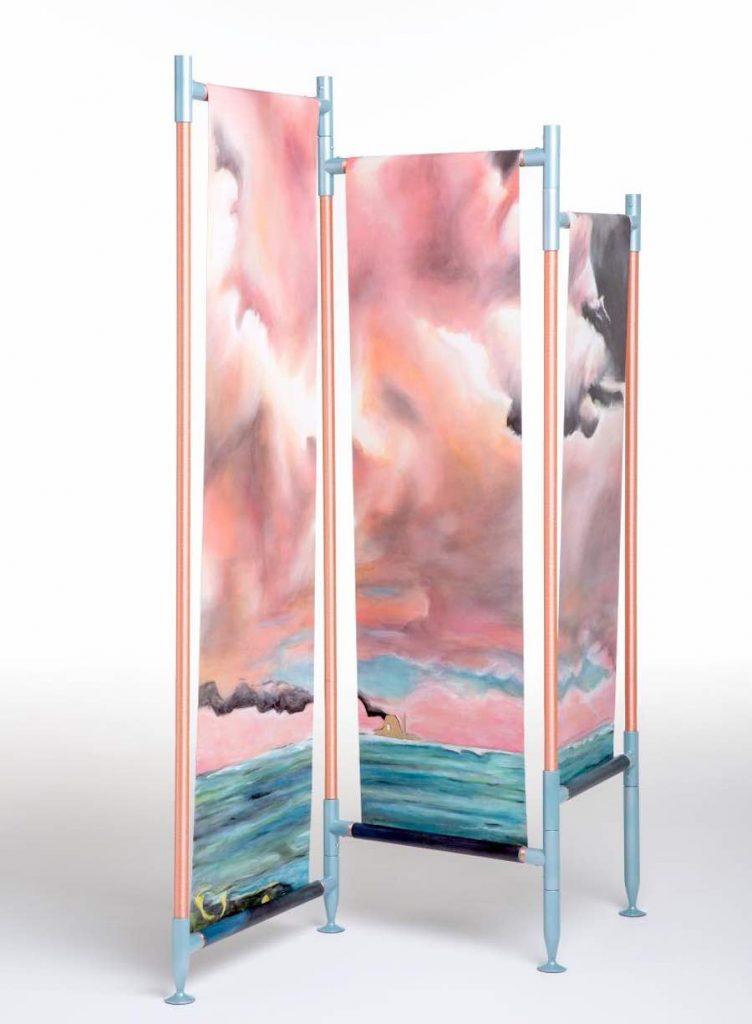 PEARL HARBOR by Vito Nesta and Wallpaper Sanpatrignano © Laila Pozzo per Doppia Firma MFCC, FCMA, Living