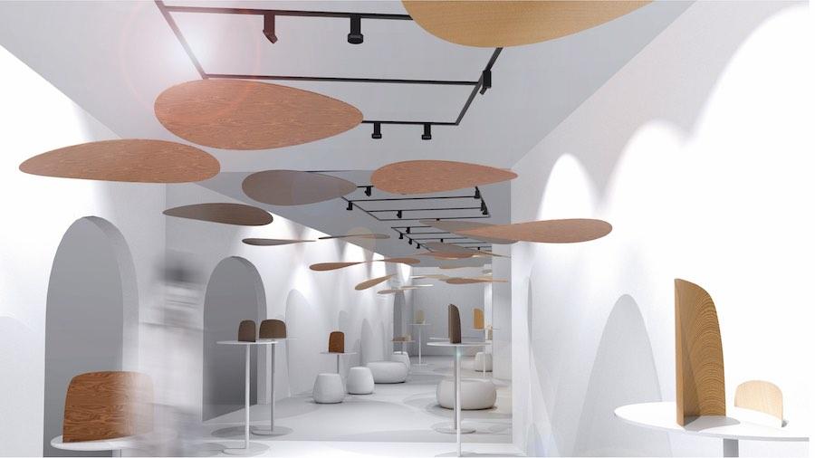 FUORISALONE 2019. Sumitomo Forestry Group Installation @ Super Design Show.