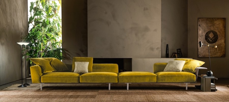 Gregor sofa by Vincent Van Dusyen for Molteni
