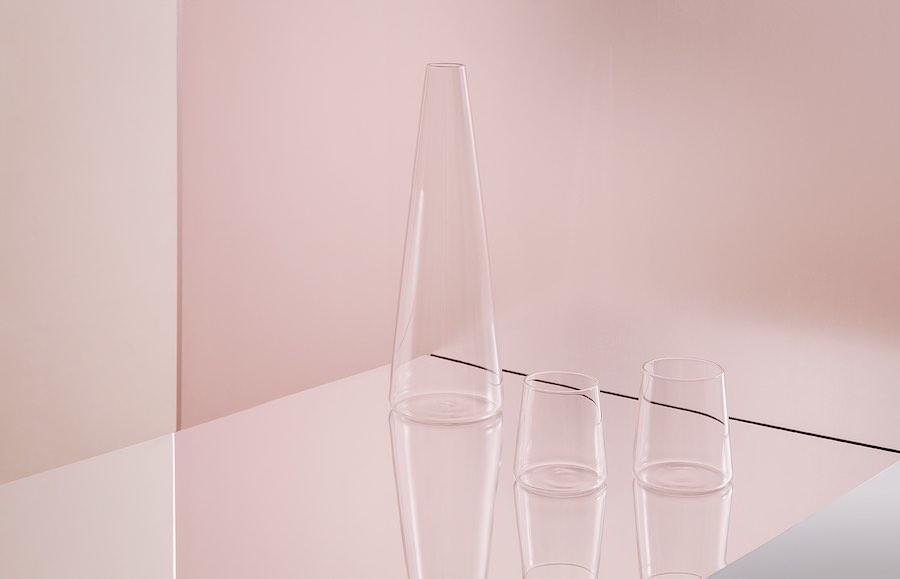 SCIIA glasware by a+b dominoni, quaquaro - Photo by Sara Magni