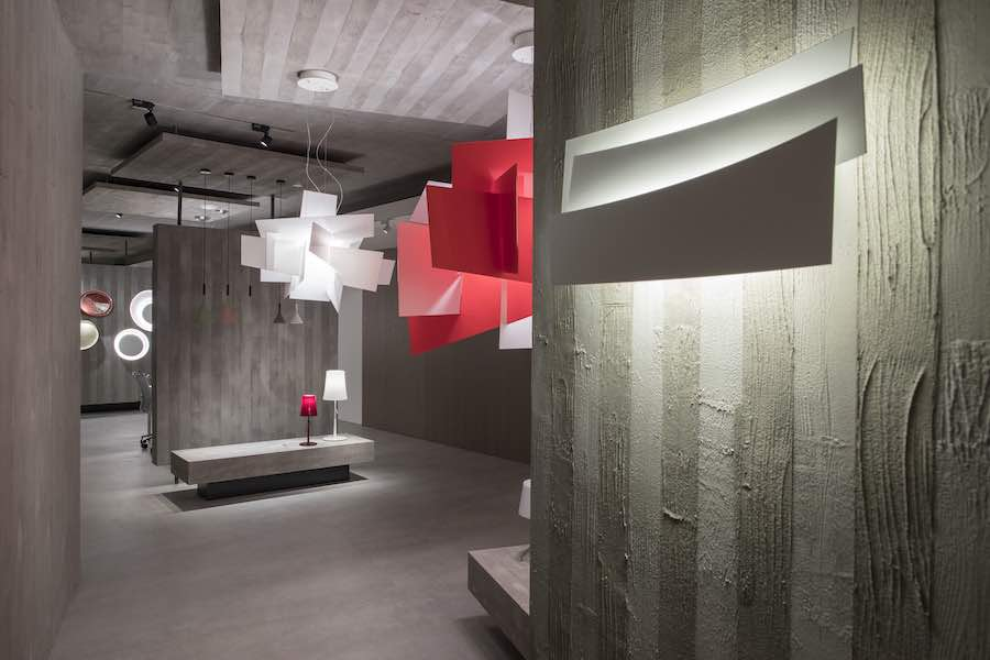 Foscarini brand-new showroom in Milan - Photo: courtesy of  by Foscarini.