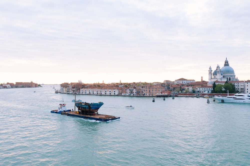 BARCA NOSTRA arrives in Venice - Photo © Barca NOSTRA