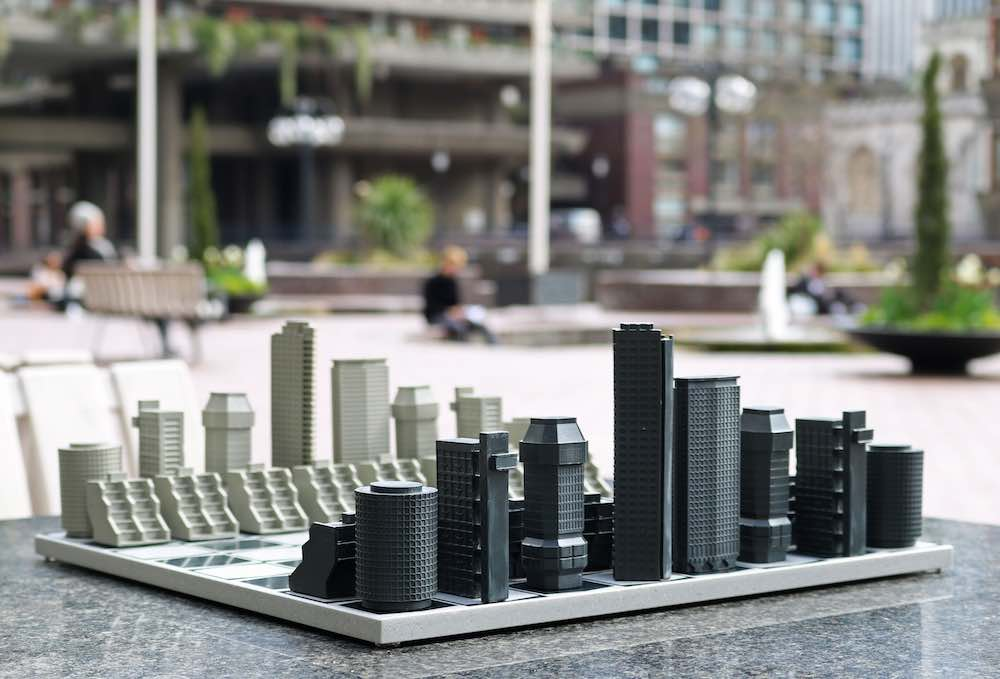 London Brutalist Editiion - Photo by Skyline Chess.
