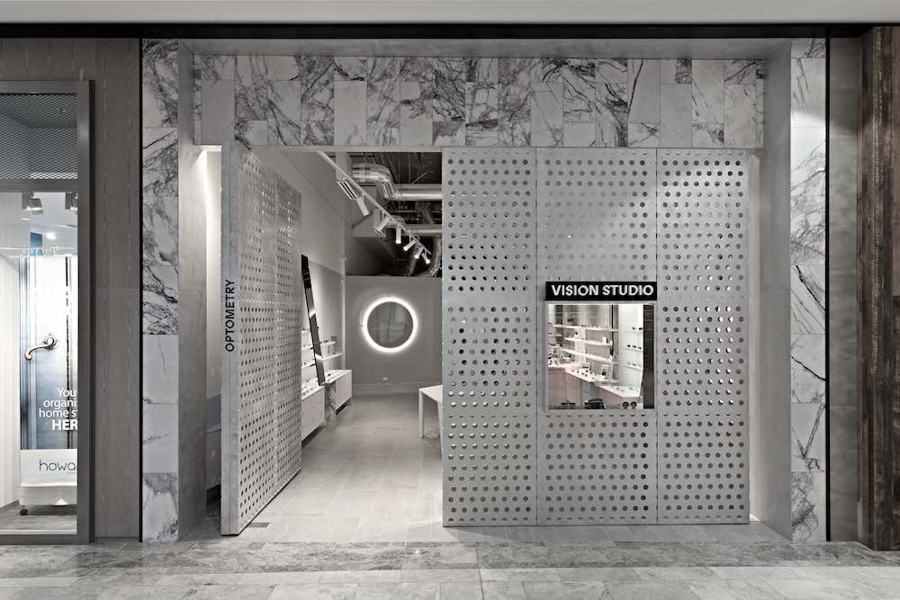 VISION STUDIO eyewear boutique by Studio Edwards - photo by Tony Gorsevski, courtesy of Studio Edwards
