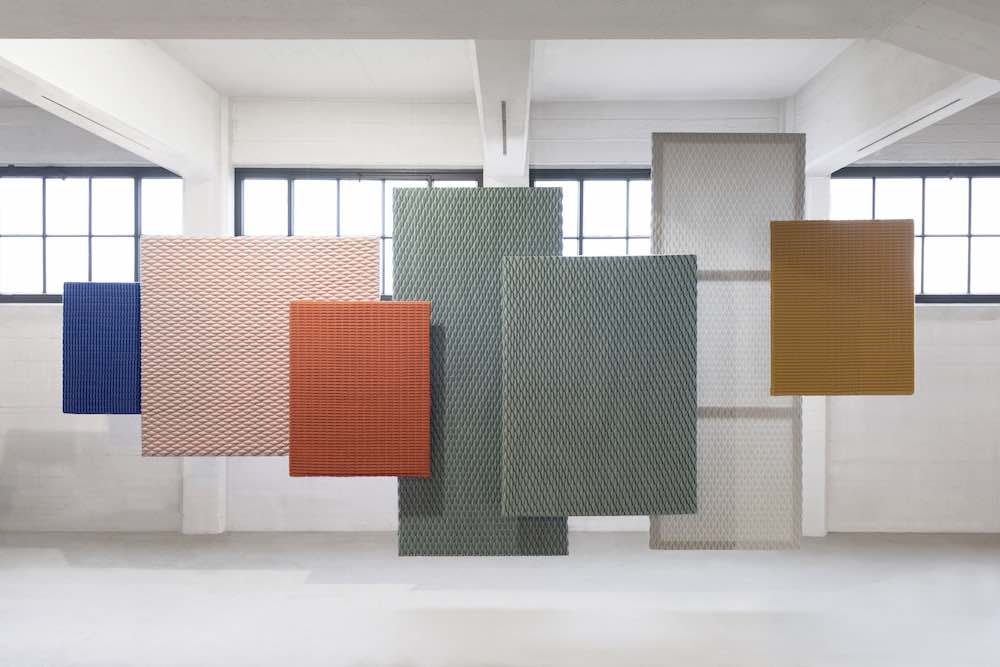 Architextiles - ArtPanels by Aleksandra Gaca @ Ventura New York - photo_Eddy Wenting.
