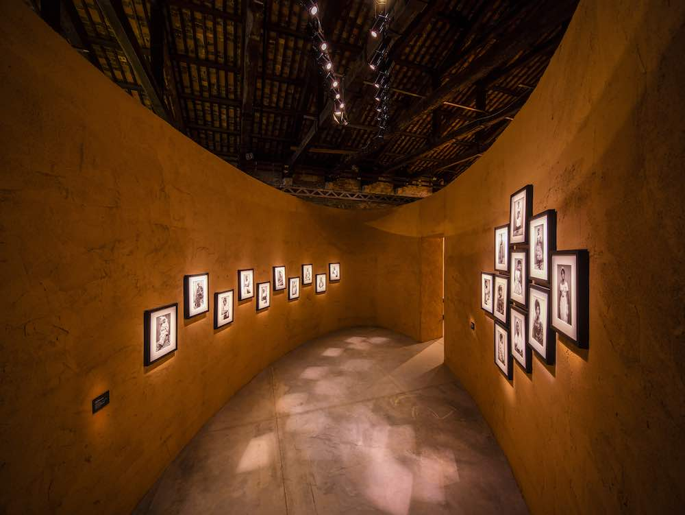 Felicia Abban @ The Ghana Pavilion, Venice Biennale 2019, design by David Adjaye. All photos by David Levene. @ The Ghana Pavilion, Venice Biennale 2019, design by David Adjaye. All photos by David Levene.
