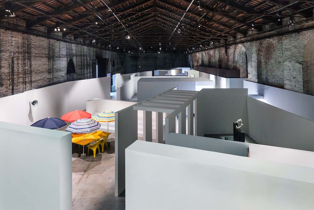 Italy pavilion at Venice Art Biennale 2019 - Photo by Delfino Sisto Legnani, courtesy of La Biennale di Venezia.