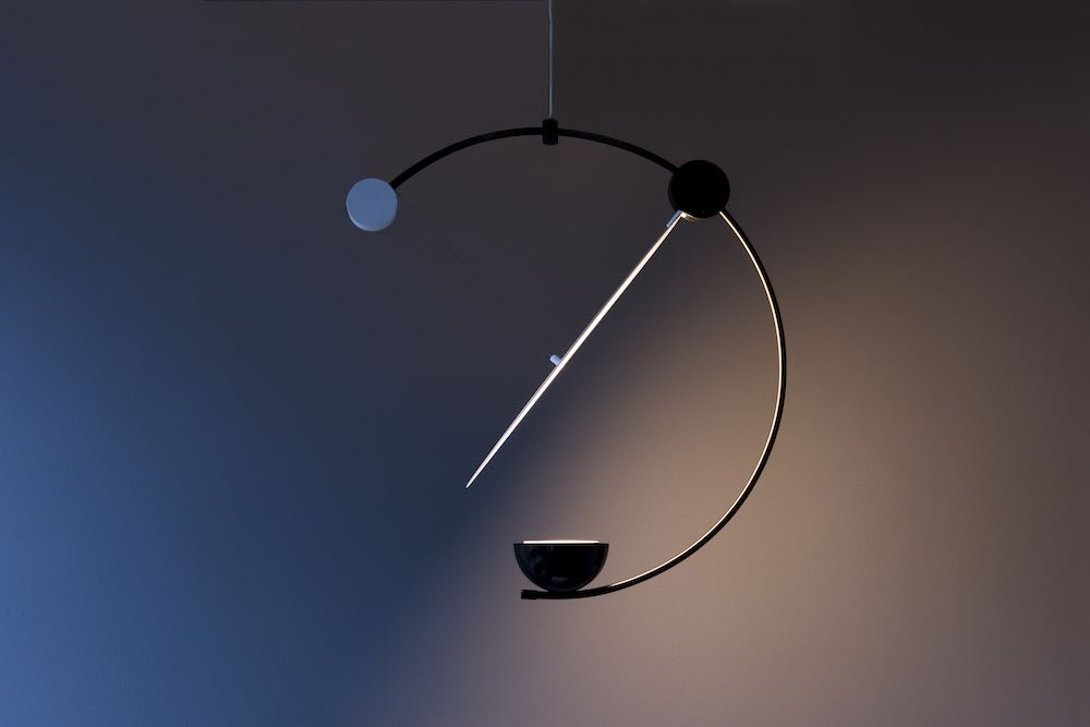 WantedDesign 2019. Equant lamp by Cecilia Xinyu Zhang - Photo by Dag Sverre Randen, courtesy of WantedDesign 2019.