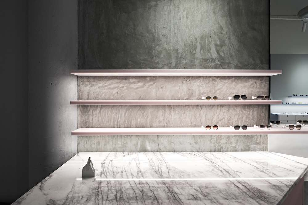 VISION STUDIO eyewear boutique by Studio Edwards - photo by Tony Gorsevski, courtesy of Studio Edwards.