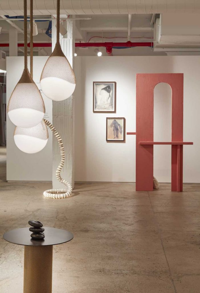 DEEPER THAN TEXT exhibition in New York by Female Design Council and 1stdibs - Photo by Design Council and 1stdibs.