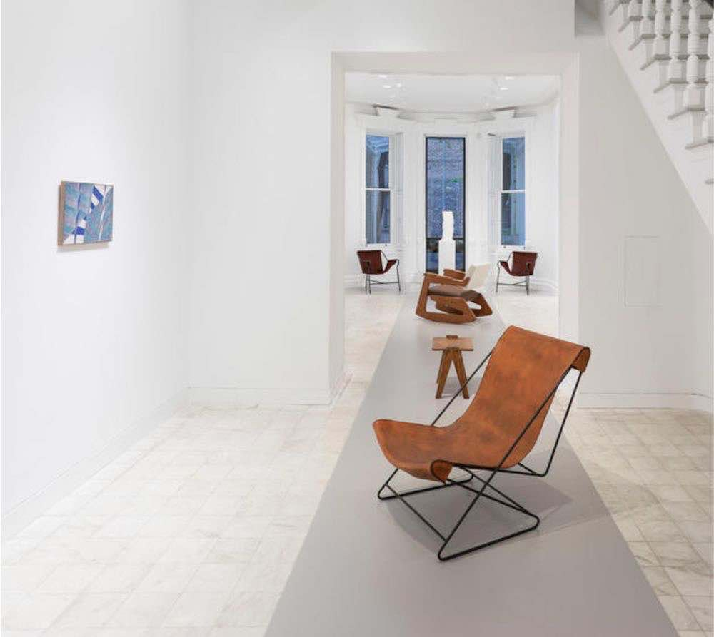 Installation view of 'Lina Bo Bardi Giancarlo Palanti – Studio d'Arte Palma 1948-1951' at Gladstone gallery in New York. Photography by David Regen. Courtesy, Nilufar Gallery and Gladstone Gallery.
