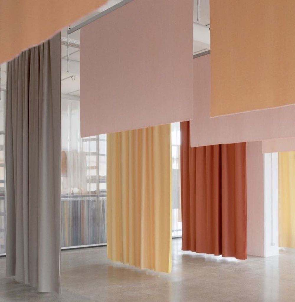 3 Days of Design 2019 - Kvadrat intstallation @ 3 Days of Design 2019 - Photo via IG @kvadrattextiles by @brianbuchard.
