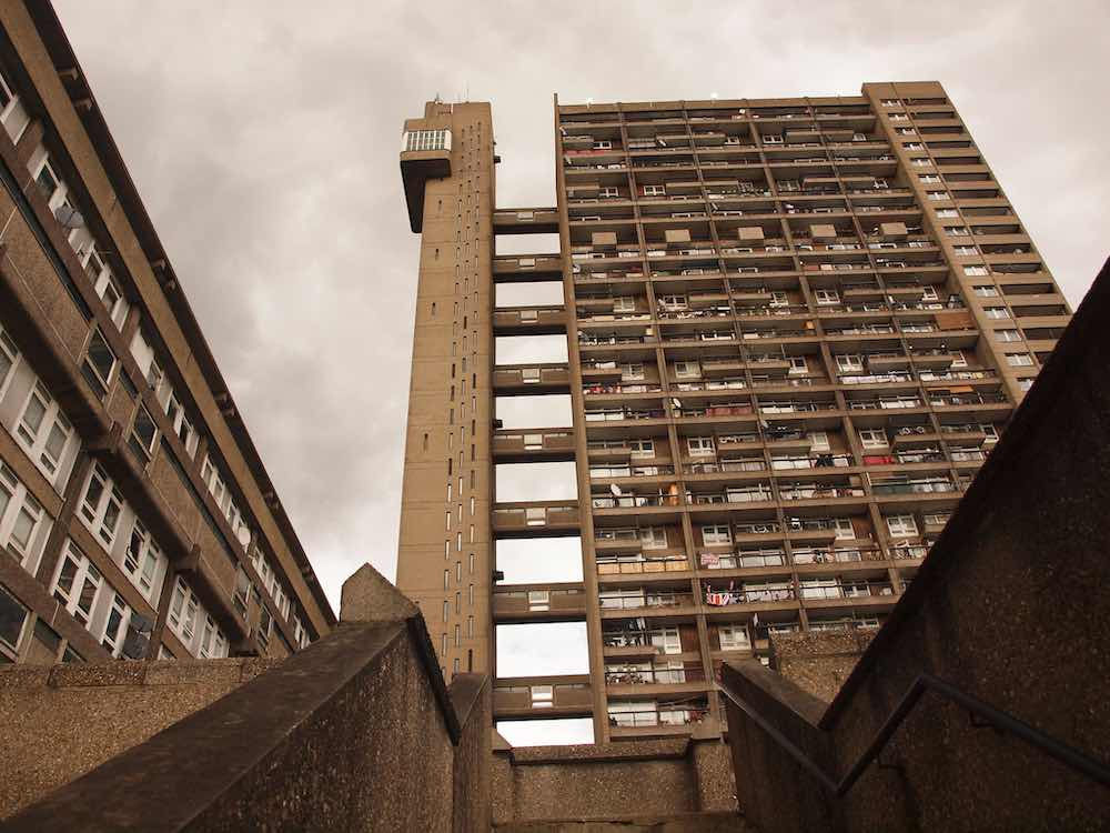 Trellick Tower by Erno Goldfinger, 1972 - Photo by SomeDriftwood, CC BY-SA