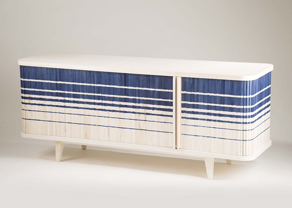 Ikat_Credenza by INDO-. Courtesy of WantedDesign 2019.