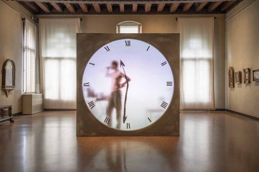 'Real Time XL - The Artist' by Maarten Baas @ DYSFUNCTIONAL exhibition - Image by Carpenters Workshop Gallery.