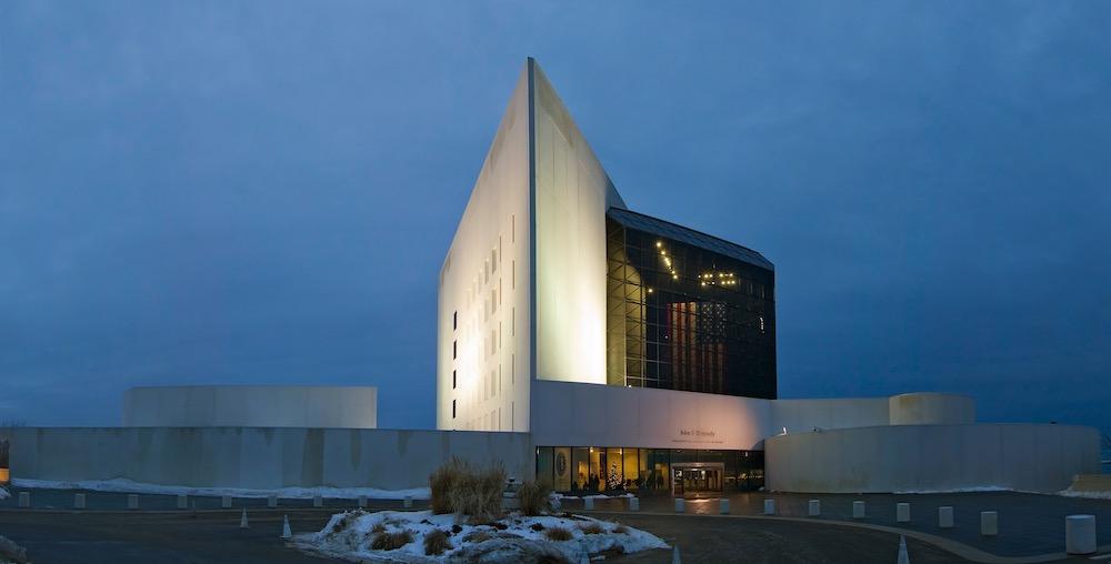 John F. Kennedy Library in Boston, MA - US.
