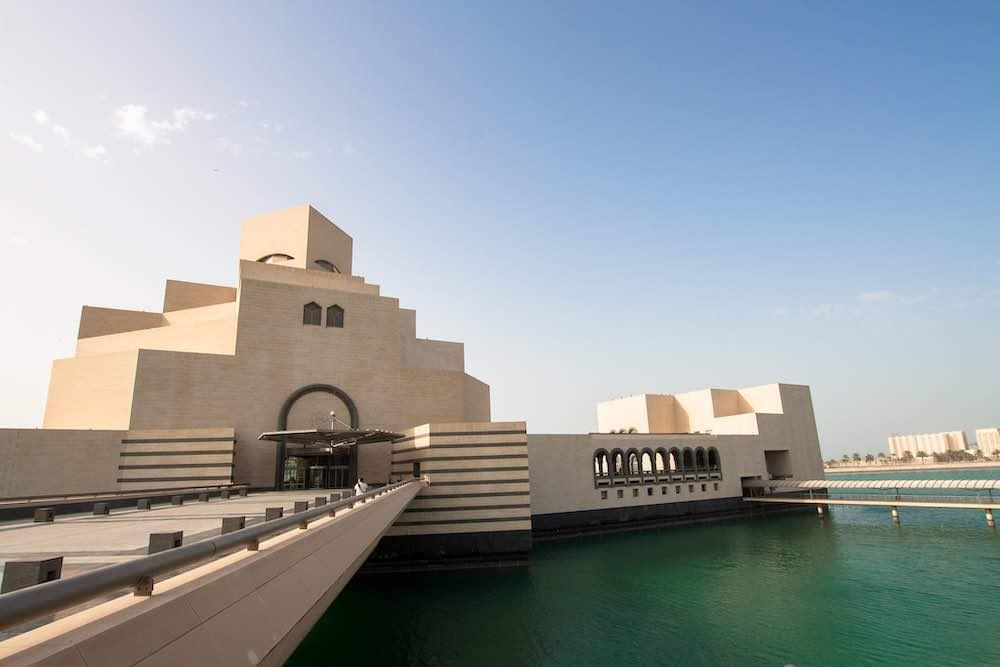 Museum of Islamic Art by I M Pei in Doha, Qatar - Photo by Derek Brukk, CC.