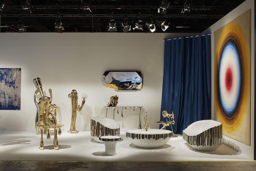 Gallery ALL @ DesignMiami/ Basel 2019 - Photo by James Harris, courtesy of DesignMiami/ Basel.