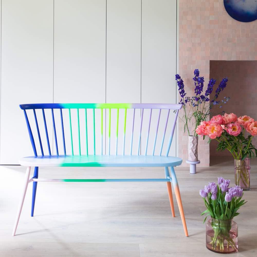 ercol x 2LG: LOVE Seat - Photo: courtesy of L2G Studio.
