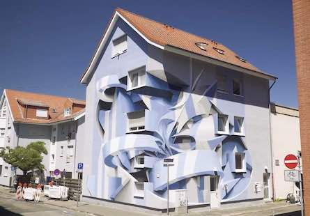 Street-Art Optical Illusion