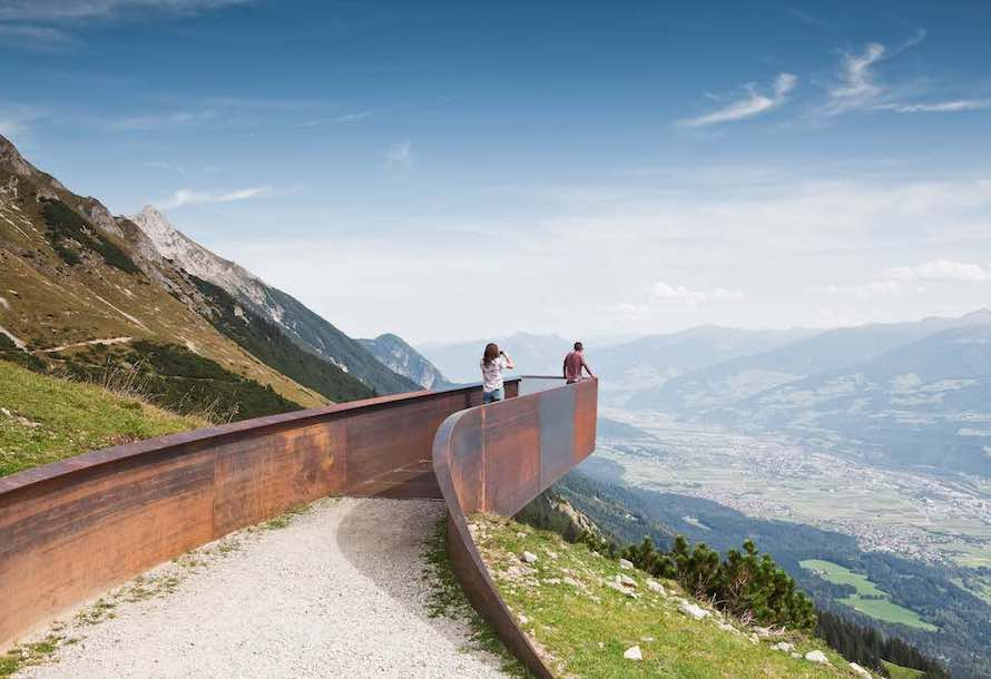 Snøhetta's Alpine archi-trail