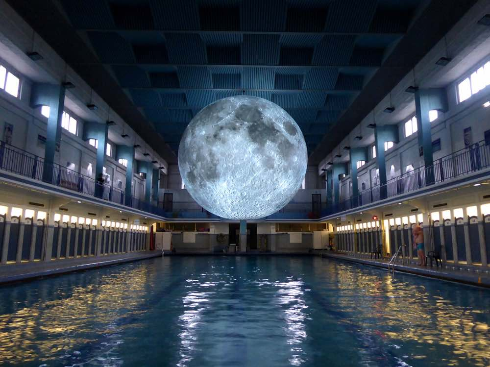 Museum of The Moon - Les Tombees de Les Nuit Festival, Rennes France